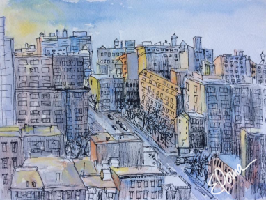 Lower East Side, 5x7, $110
