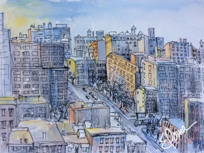 Lower East Side, 5x7, $110